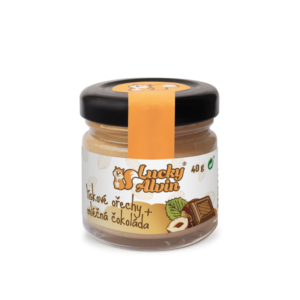 Lucky Alvin Lískové ořechy + mléčná čokoláda