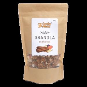 Lucky Alvin Cukrfree granola skořicová